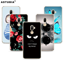 ASTUBIA Case For Ulefone S8 Case For Ulefone S8 Pro Cover Silicon Cat Flower Painted Capa For Ulefone S8 5.3 Case For S8 Ulefone(China)