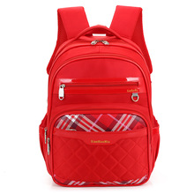 New Children Backpacks School Bags For Girls Cute Plaid Princess Girl Bow Tie Design Kids Backpacks Schoolbags Mochila Escolar