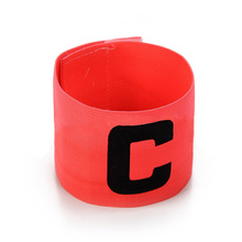 10Pcs Captain Armband Football Basketball Soccer Sports Flexible Adjustable Player Bands Badge Captain Armband C Worlds 4 Color