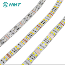 5m DC12V LED Strip Light SMD5050 120leds/m Double Row Non-Waterproof / IP67 Waterproof White / Warm White / RGB for decoration