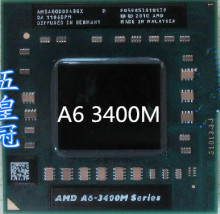 original AMD Laptop Notebook CPU processor A6-3400M a6-3400M  1.4Ghz Socket FS1 A6 3400M AM3400DDX43GX Free Shipping A6-3400M