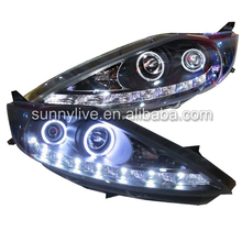 For FORD for Fiesta LED Head Lamps  2008-2011 JY