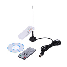 New High Quality E4000 USB DVB-T RTL-SDR Realtek RTL2832U R820T DVB-T Tuner Receiver Whitefor TV PC or Laptop(China)