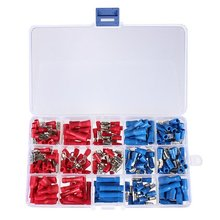 Promotion! 200X Insulated Electrical terminal Crimp Connectors Crimp Assortment