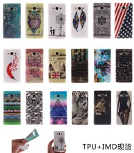 Fashion IMD Tiger Owl Sex girl Flower Painting Soft TPU Case For Samsung Galaxy J1 Ace J110 Phone Case(China)