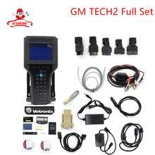 Best Quality G M TECH2 Full Set Support 6 Softwares(for G M/OPEL/SAAB/ISUZU/SUZUKI/HOLDEN) G M Tech 2 diagnostic tool Free Ship
