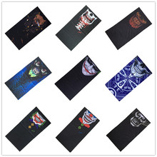 2017 New Fashion Sport Cool Magic Skull Scarf Tactical jungle Spiderman Mask Hood Turban Bandanas Scarves Seamless Headscarf