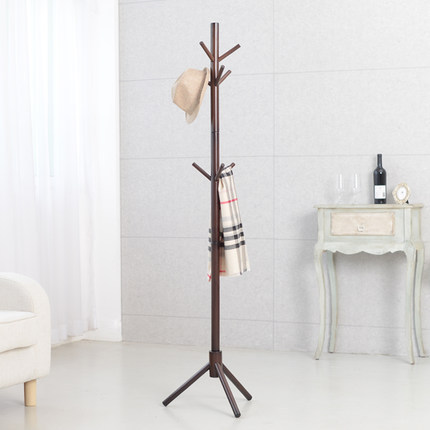 Modern Classic Solid Wood Living Room Coat Rack Display Stands Scarves Hats Bags Clothes Shelf<br>