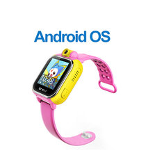 ZIMINGU Touch Screen V83 Smart Cell Watch SOS Call Location Finder GPS Watch for Children Safe Anti Lost Monitor PK Q50