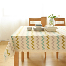 Striped Table Cloths Cover Set For The Kitchen Linens Banquet Household Items Rectangular Dustproof Table Cloth Modern DD0466
