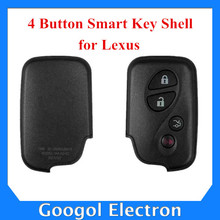 For Lexus Smart Key Shell 4 Button Free Shipping