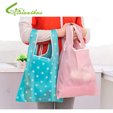 Hot Sale 2016 Eco-Friendly Large Capacity Reuseable Shopping Bag Grocery Bags Tote Folding Supermarket Shopper Storage Handbags