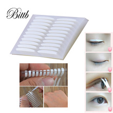 Bittb 5Packs/lot Eye Invisible Double Sided Eyelid Tape Trial Makeup Sticker Eyes Beauty Tools Kit 3D Magic Eyelid Sticker(China)