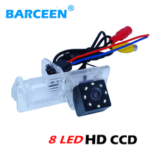 Suitable for Renault Fluence/Dacia Duster/Megane 3/for Nissan Terrano special car rear camera with 8 led +rainproof +hot selling(China)