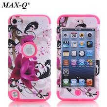 For Touch 5 Case Pattern Hybrid 3 in 1 High Impact Case Cover For Apple iPod Touch 5 5th Generation Case Cover Free Shipping