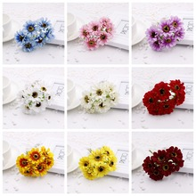new 60PCS/lot 3cm silk bouquet of artificial poppies cherry party supplies wedding decorations festive handmade flowers