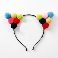 2017 Fashion Women Multicolor Cute Sweet Hair Bands Headbands Girls Adorable Christmas Headwear Hair Accessory Gifts