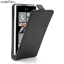 Wonderfultry Phone leather Case Capa For Nokia 720 Cheap Vertical Leather Magnetic Cases Accessories cover for Nokia Lumia 720