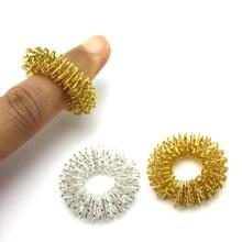 4 pcs Hot Sale Finger Massage Ring Acupuncture Ring Health Care Body Massager Finger lose Weight Hand Massage Help Sleep