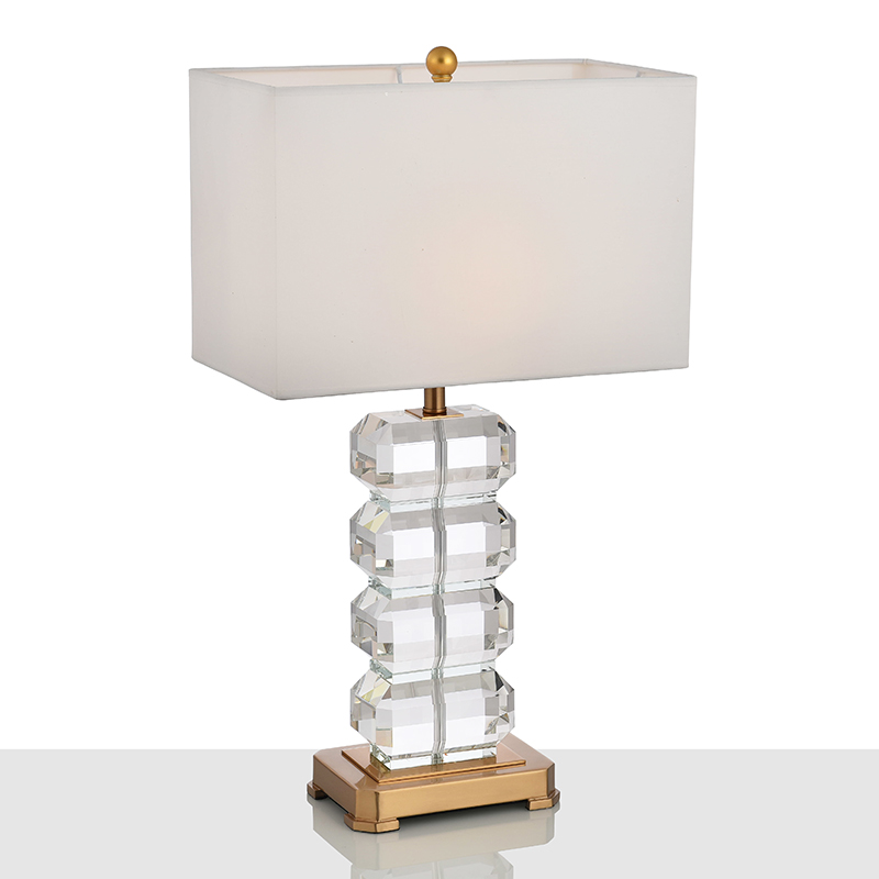 Hotel Crystal Table Lamp 2