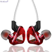 WishLotus Color Wired Ears Hang Headset In-Ear Earphone Heavy Bass Noise Reduction Headphones with Microphone for Sports(China)