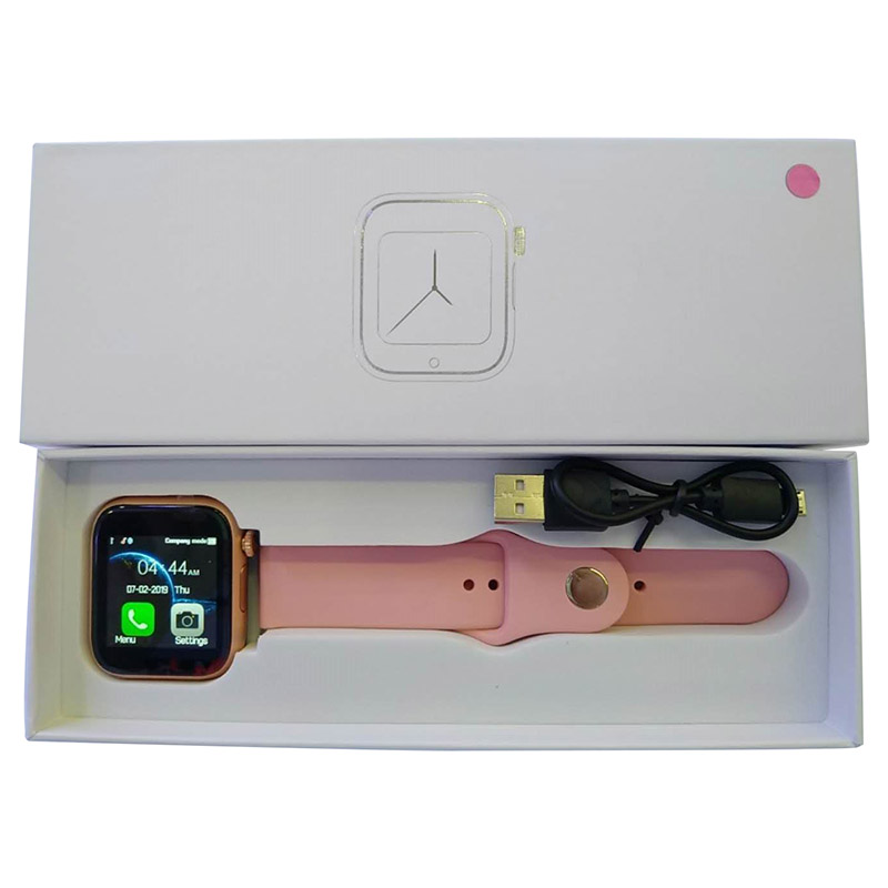Z6 pink Smart watch main-5