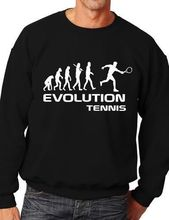Evolution Of Tennis Funny Sweatshirt/Jumper Unisex Birthday Gift More Size and Color-E213(China)