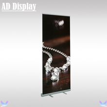 80*200cm Standard 2.2kg Full Aluminum Roll Up Banner Display Stand,Marketing Leading Exhibition Retractable Advertising Stand