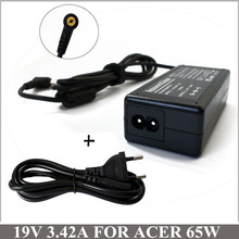 19V 3.42A 65W Notebook Charger Laptop AC Adapter For Netbook Acer Aspire 4720G 4720Z 5570Z 6920 5532 5535 5538