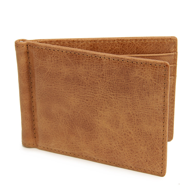 MJQJ003 men wallet brown