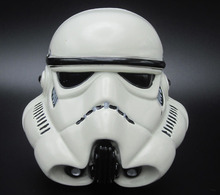 3D Starwars Stormtrooper Helmet White Color Belt Buckle