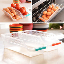 Great Useful 1Pcs Household Refrigerator Plastic Storage Box fresh spacer layer Container For The Kitchen Tool(China)