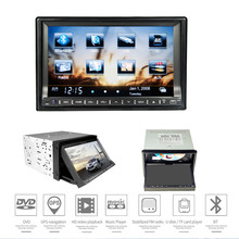 6.95 inch 2 Din Wince System Bluetooth Car DVD Player with GPS Navigation Retractable Screen WIFI Function Car DVD Navigator