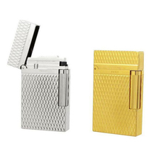 ST-Dupon* Lighter Gold Sliver color with Bright Sound smoking windproof cigarette lighter