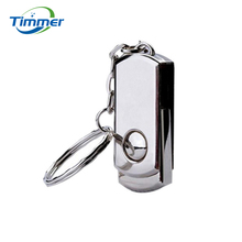 Quality Flash card Rotating metal usb flash drive  64GB 32gb stainless steel Usb disk pen drive 2tb 2.0 usb