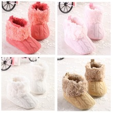 Baby crochet shoes Boy Girls Shoes Soft Sole Kids Toddler Infant Boots Prewalker crochet booties First Walkers