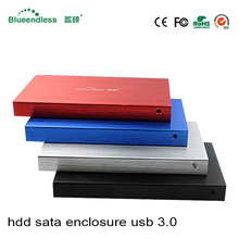 "2.5"" hdd enclosure Sata USB 3.0 hdd caddy Interface sata HDD SSD Hard Drive Case 6Gbps Metal hdd case with USB 3.0 Cable for 1tb(China)"