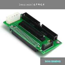 SCSI SCA 80 PIN TO 68 50 PIN SCSI Adapter SCA 80 PIN TO SCSI 68 IDE 50 Freeshipping Wholesale