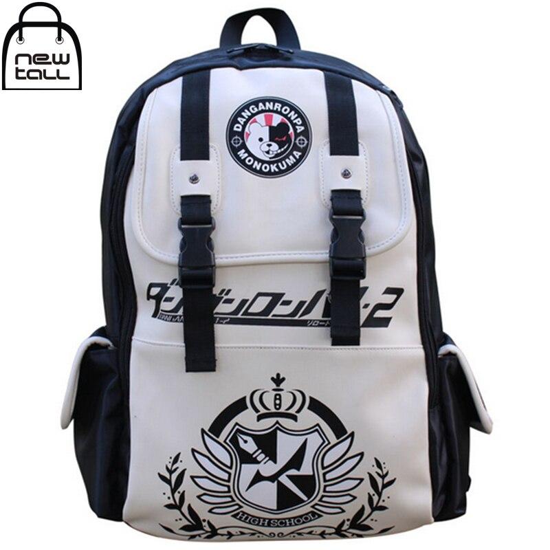 [NEWTALL] Anime Dangan Ronpa Danganronpa Monokuma Cute School Backpack Large Capacity Travelling Bag US Shipping 16072912<br><br>Aliexpress