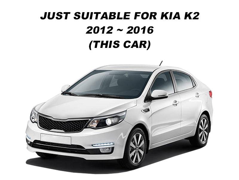 For Russia KIA Rio K2 2012 2013 2014 2015 2016 2017 LHD Car Dashboard Mat Covers Mats Pad Auto Shade Cushion Carpet Protector (1)