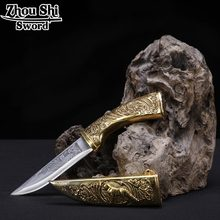 Vintage home decor Small Sword beautiful gift sword European style stainless steel blade good hunting knife(China)