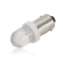 1pcs BA9S T4W Xenon White Led Car Auto Side Wedge Parker Interior Dome Signal Light Bulb DC12V