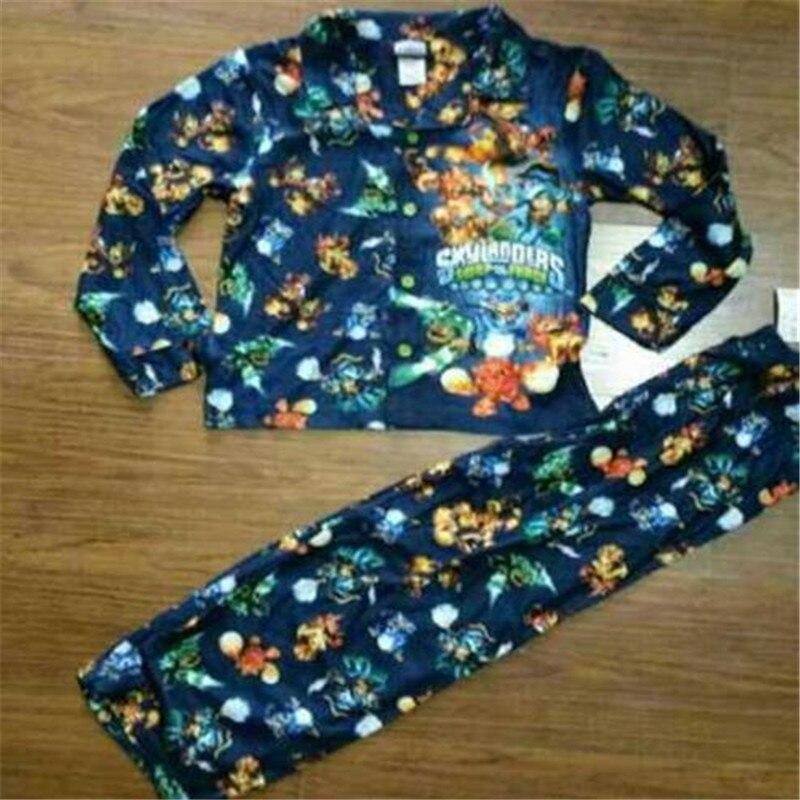 Autumn Boys Sleep Legoe Pajamas Set Children Clothing Set Shirt+Pants 2pcs/set Boys Clothes Kids Flannel Clothing Sleeping Suit<br><br>Aliexpress