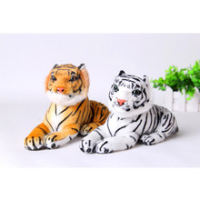 Interacitve Dolls 25cm Cute Plush Tiger Animal Toys Child Gift Lovely Stuffed Doll Animal Pillow Children Kids Birthday Gift(China)