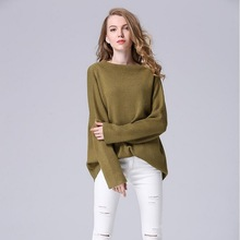 Women Winter Pullover Sweater 2017 Casual Loose Long Sleeve Cashmere Sweater Ladies Jumpers Gilet Femme Manche Longue L1045