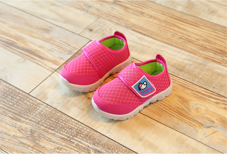 17 Autumn Kids Shoes Boys Girls Sports Shoes Breathable Mesh Children Casual Shoes Sneakers Soft Sole Toddler Baby Shoes 13