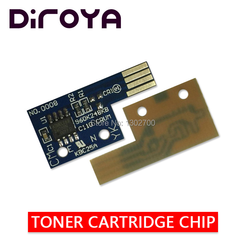 4 x Toner Chips for Dell 1320c DELL 1320  310-9058 310-9060 310-9064 310-9062