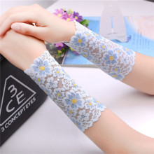 20 Colors Women Arm Sleeve Cover Summer Uv Arm Sleeves Sun Protection Lace Arm Covers Uv Sleeves Arm Sleeve Scar Covers
