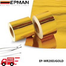 "EPMAN 2""x5 Meter Design Engineering Reflect A Gold Performance Heat Protection Tape/Barrier EP-WR20DJGOLD"