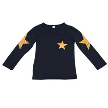 New 2017 boy t shirt popular hero cotton Long-sleeved t-shirt printing Star children's cartoon white kids boys child's clothes